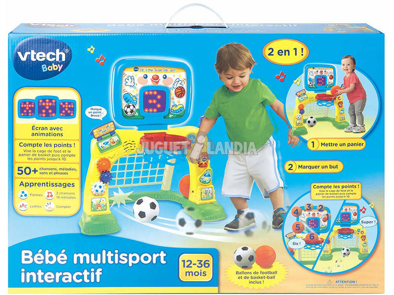 Bébé Multisport Interactif Vtech 156305
