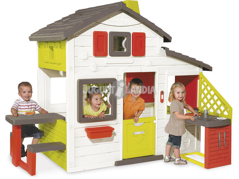 Friends House + Cocina Smoby 810200