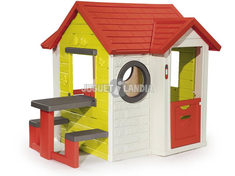 La Mia casa con Tavolo Picnic Smoby 810401