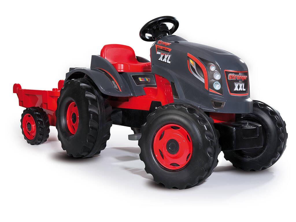 Tractor Stronger XXL Con Remolque Smoby 710200