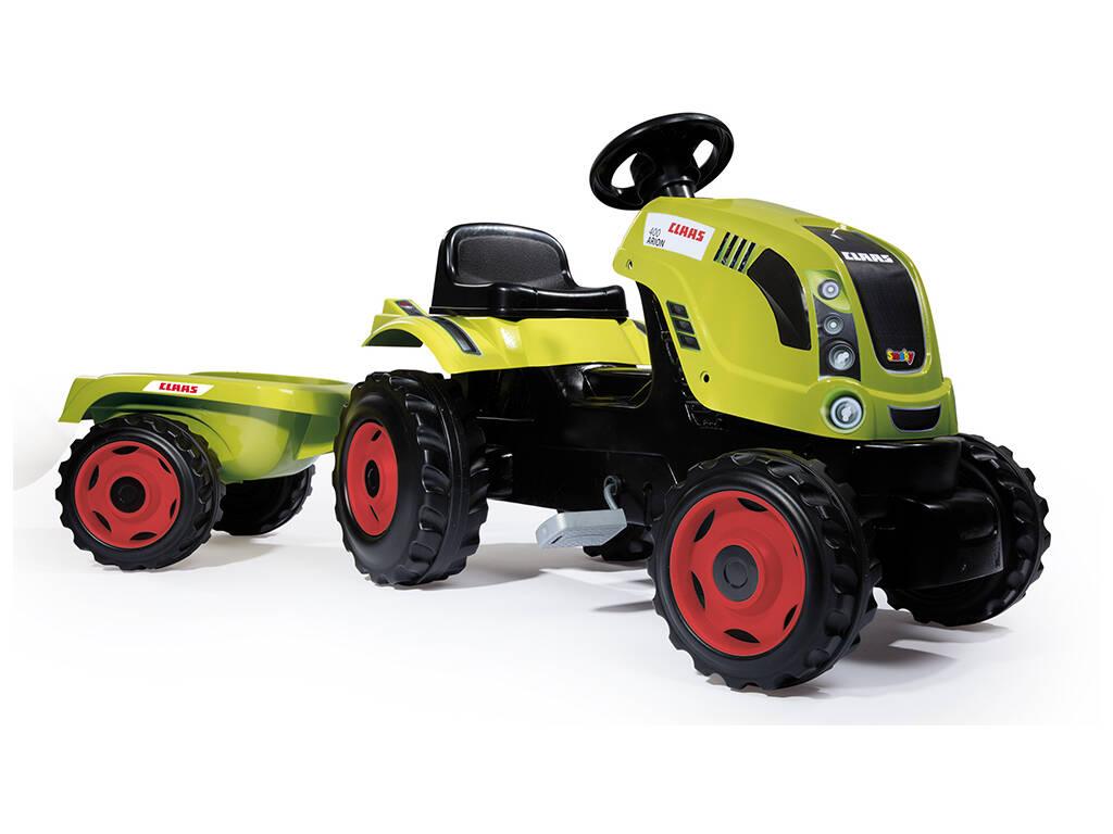Tractor Claas Farmer XL Con Remolque Smoby 710114