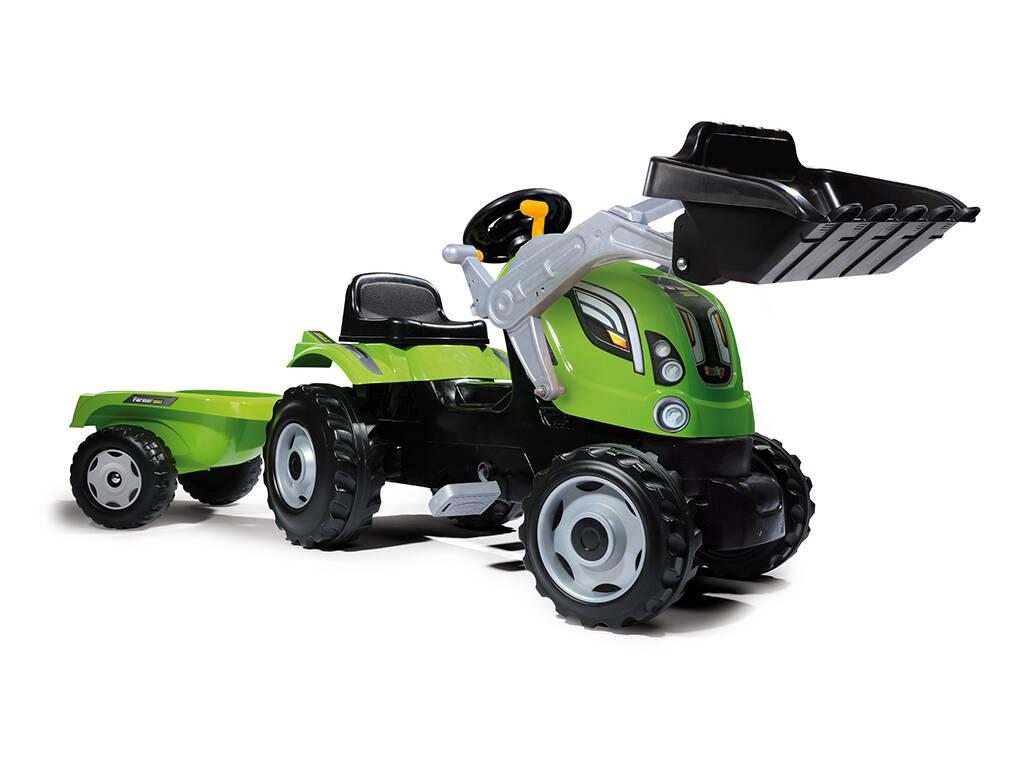 Tracteur Farmer Max avec remorque Smoby 710109