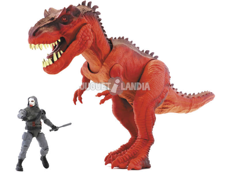 Jurassic Clash Mega Monster Figura T-Rex