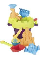 Cubo Playa 33x25 con Torre y Accesorios 8 Piezas