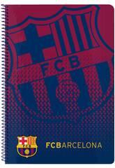 Libreta Folio Tapas Duras 80 h. FCB Safta 511825066