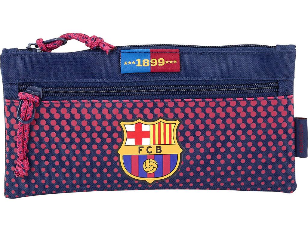 Estojo Multiuso Dois Zippers Grande F.C. Barcelona