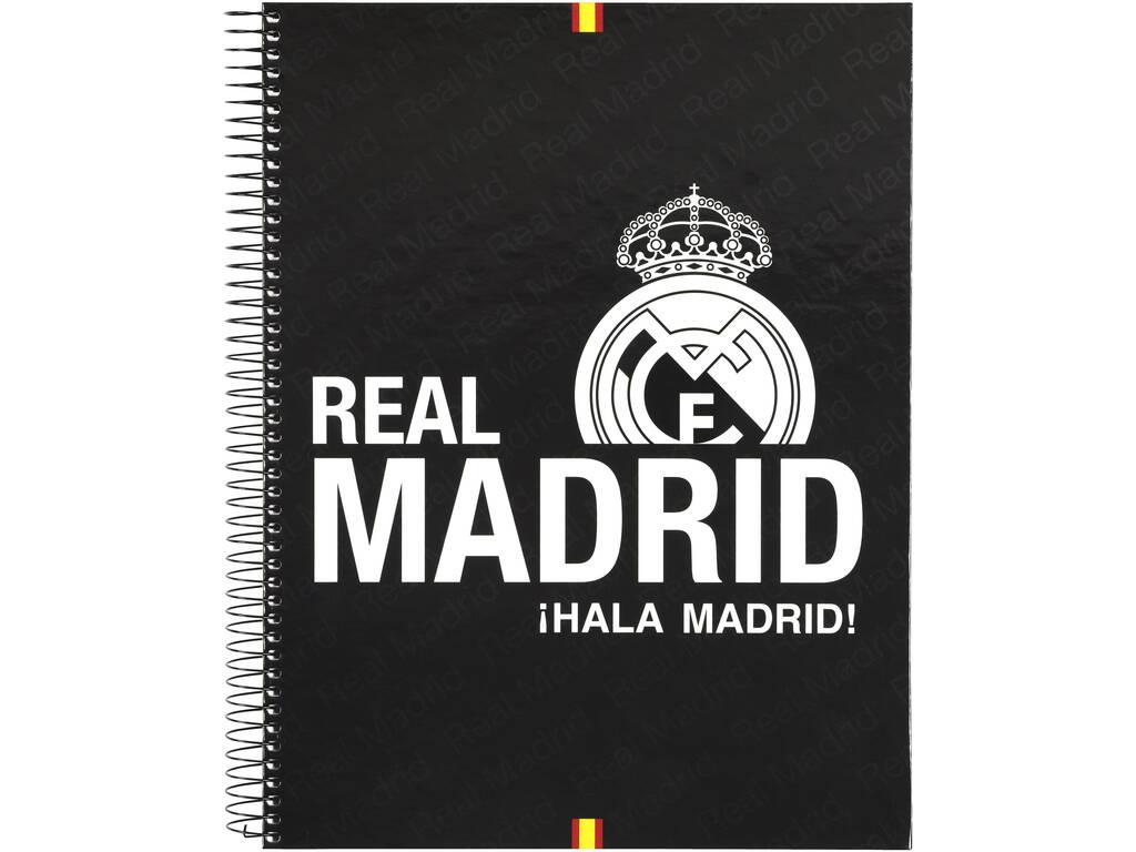 Real Madrid Bloc A4 120 Folhas da Safta 511557064
