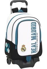 Mochila Carro Real Madrid 17/18 Safta 611754313