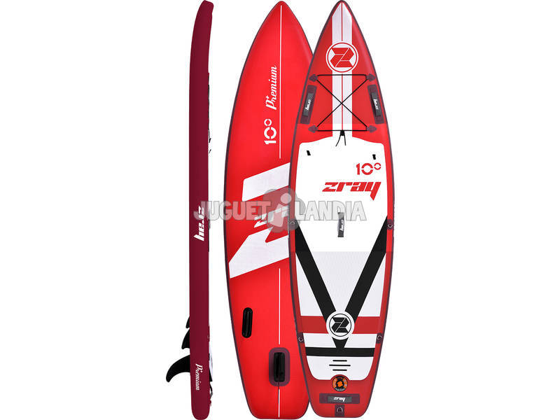 Stand Up Paddle gonfiabile Zray Fury 10 305x81 cm. Poolstar PB-ZF1