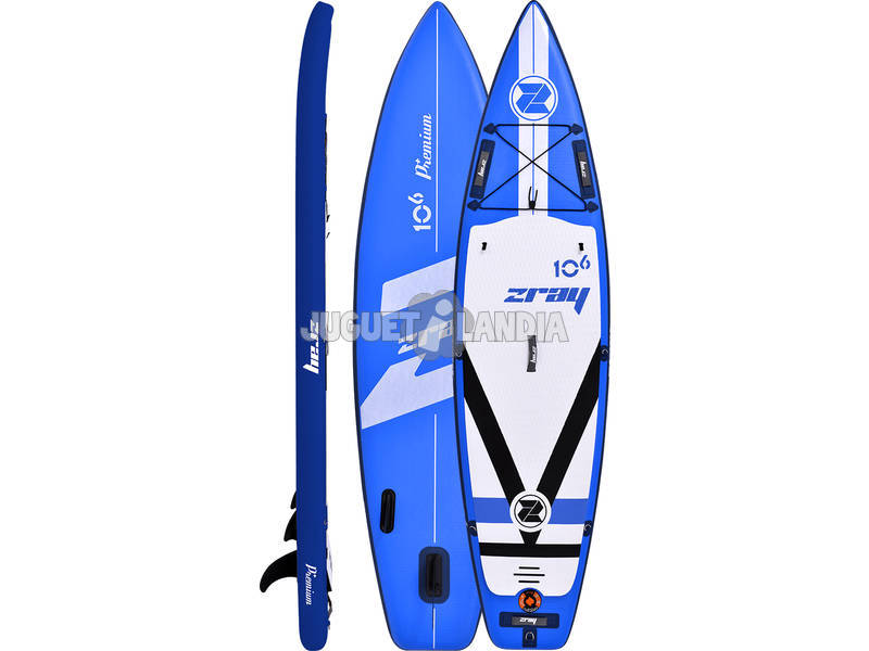 Tavola Stand Up Paddle Surf Zray Fury 10'6 320x81 cm. Poolstar PB-ZF2