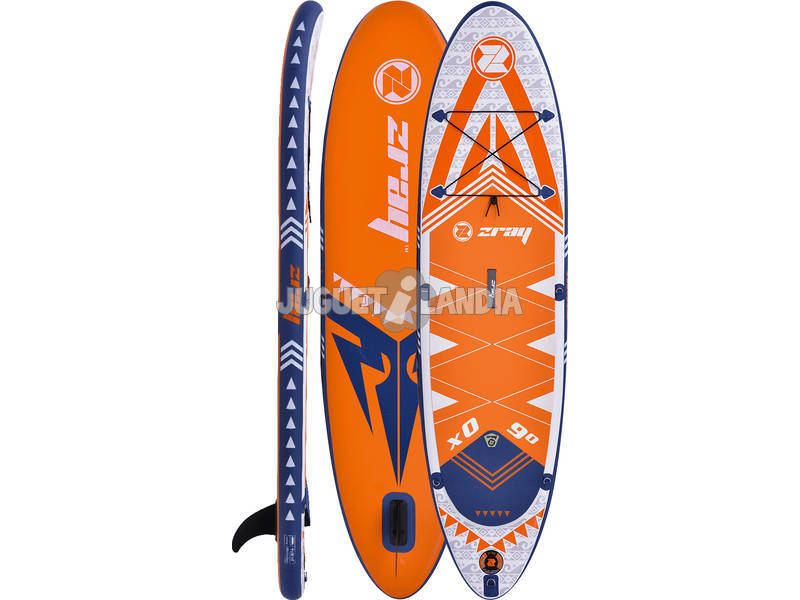 Planche de Padelsurf Gonflable Zray X-Rider 9 275x71 cm. Poolstar PB-ZX0