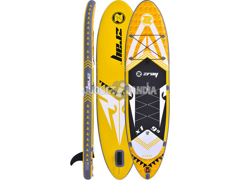 Tavola Stand Up Paddle Surf Zray X-Rider 9'9 297x76 cm. Poolstar PB-ZX1C