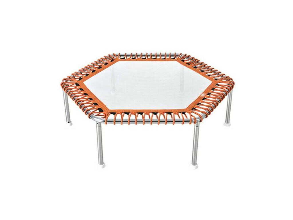 Cama Elástica para Piscina Hexagonal WX Tramp Premium 34x112x112 cm. Poolstar WX-TR3-HEXA