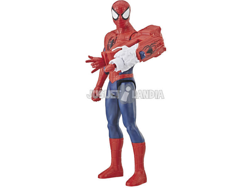 Spiderman 30 cm. com Canhão Power FX Hasbro E3552