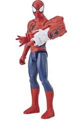Spiderman 30 cm. Con Cañón Power FX Hasbro E3552
