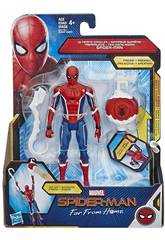 Spiderman Far From Home Figura 15 cm. con Accesorio Hasbro E3547