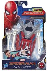 Spiderman Blaster Lance Toiles Hasbro E3566