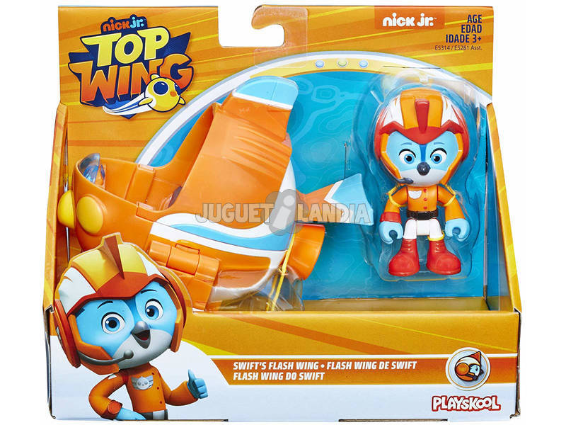 Top Wing Vehículo y Figura Hasbro E5281