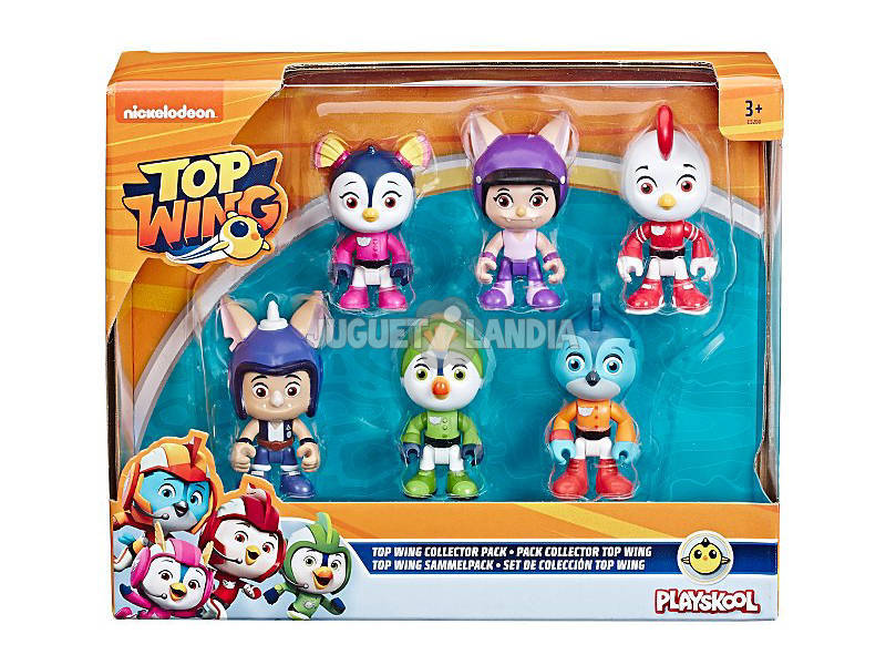 Top Wing Kit de Collection 6 Figurines Hasbro E5280