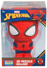 imagen Marvel Puzzle Palz Figura Spiderman 9 cm. Valuvic SPE-6758