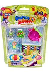 Superzings Blister 5 Figuren Serie 3 Magic Box Toys PSZ3B516IN00