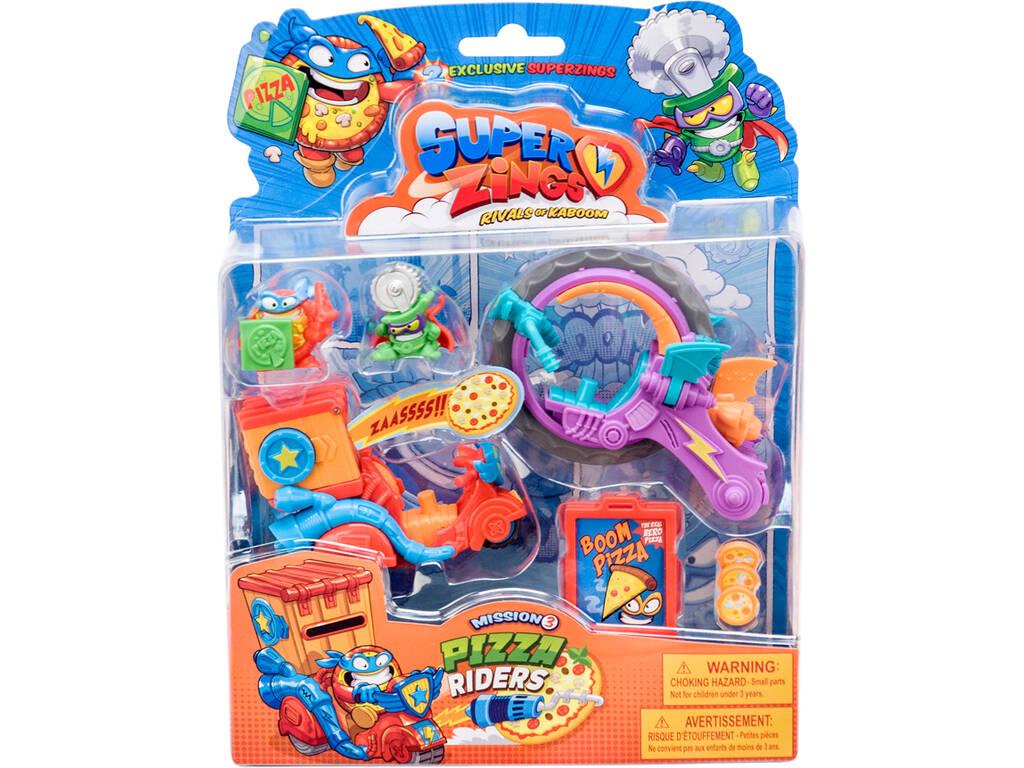 Superzings Pizza Raiders Mission 3 Magic Box Toys PSZSB216IN30