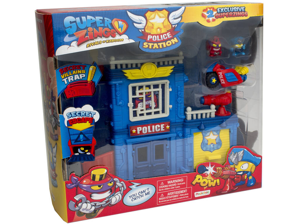 Superzings Stazione della Polizia Magic Box Toys PSZPP112IN00