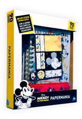 Diario Mickey Mouse 90 Anniversario Papermania con Accessori Cife 41349