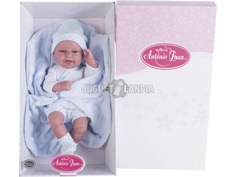 Muñeco Baby Clar Mantita 33 cm. Antonio Juan 6025