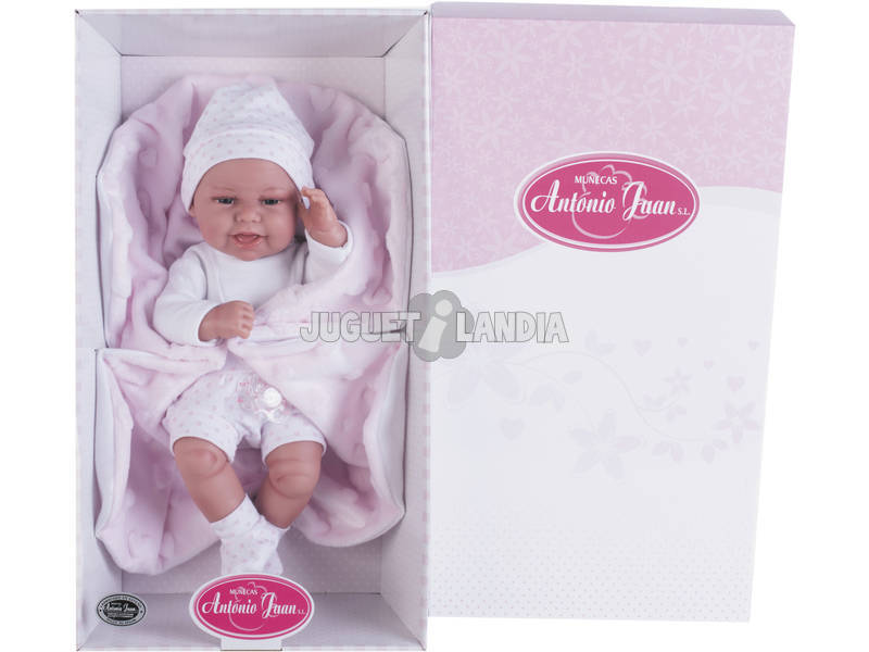 Muñeca Baby Clara Mantita 33 cm.