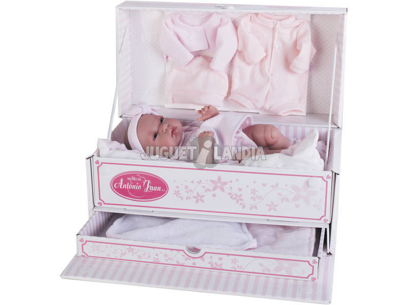Bambola Baby Toneta Baule 33 cm. Antonio Juan 6027