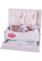 Poupée Baby Toneta Coffre 33 cm. Antonio Juan 6027