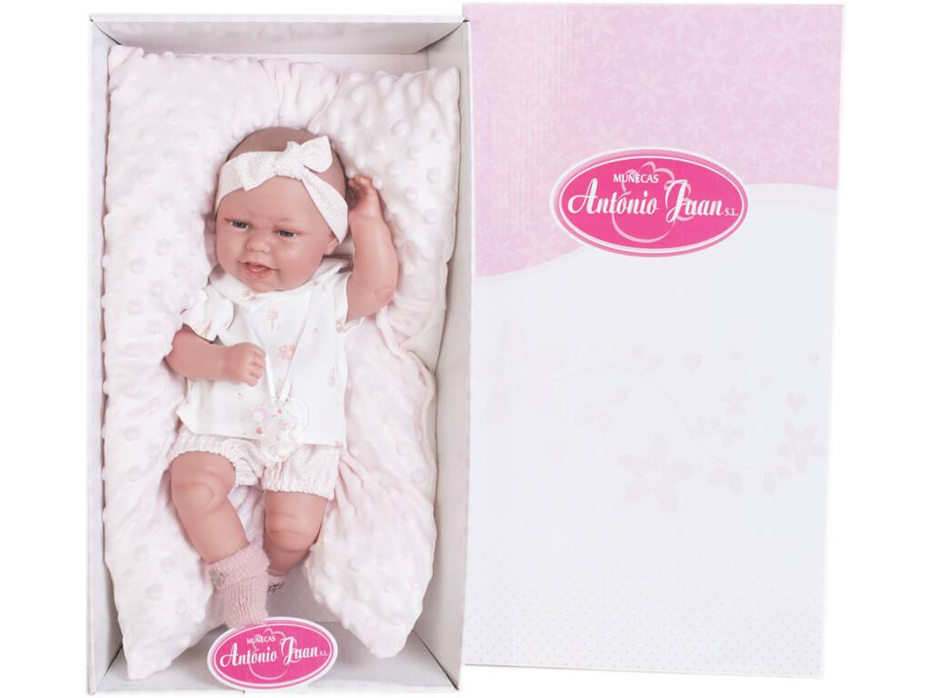 Bambola Baby Clara Cuscino 33 cm. Antonio Juan 6028