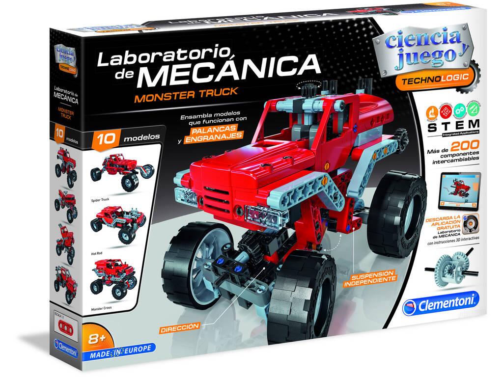 Laboratorio di Meccanica Monster Truck Clementoni 55277