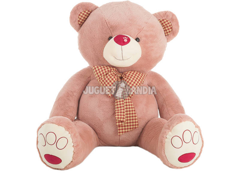 Peluche Orsacchiotto Rosa Yesi Impronta Muso 105 cm. Llopis 10596