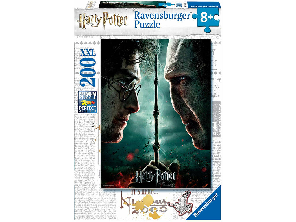 Puzzle XXL Harry Potter 200 Piezas Ravensburger 12870