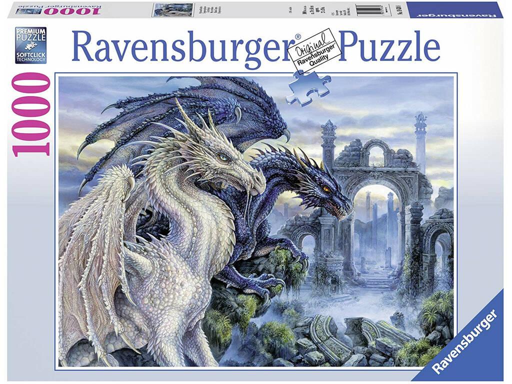 Puzzle Dragões Místicos 1.000 Peças Ravensburger 19638