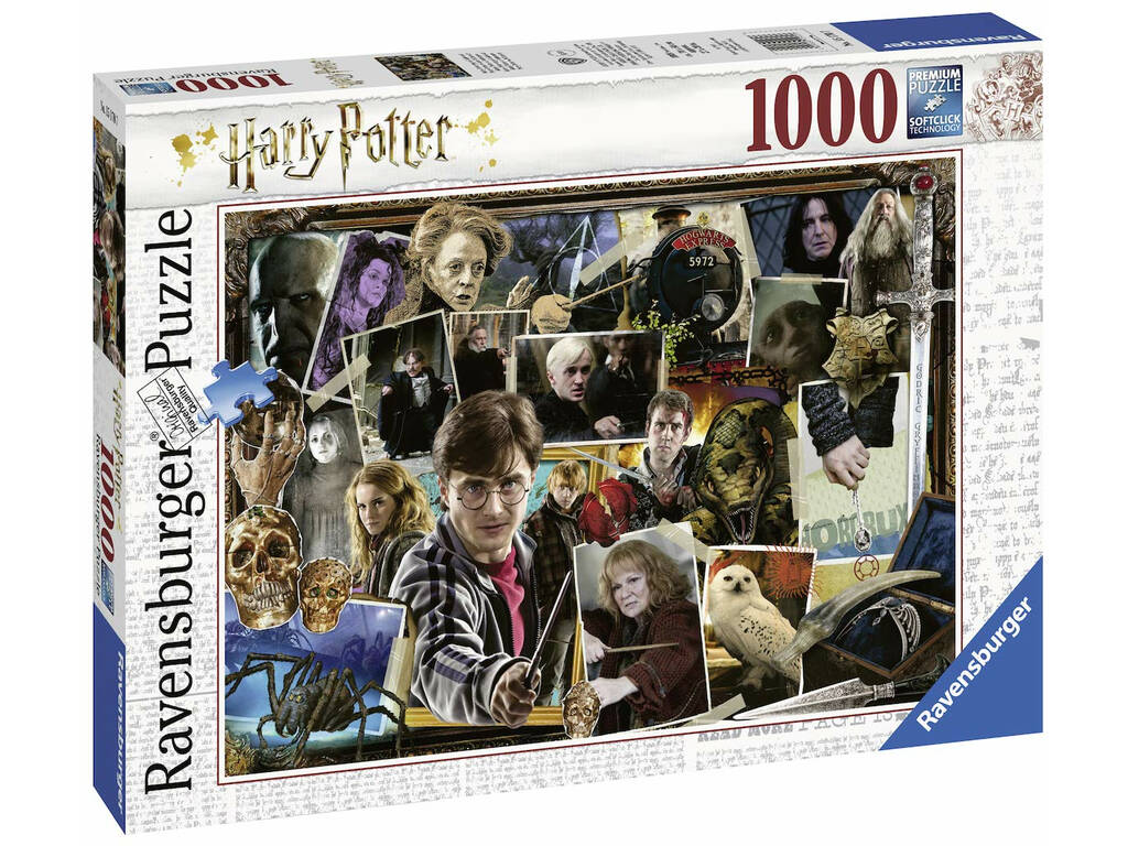 Puzzle Harry Potter vs Voldemort 1000 Piezas Ravensburger 15170