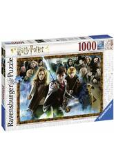 Puzzle El Mago Harry Potter 1.000 Piezas Ravensburger 15171