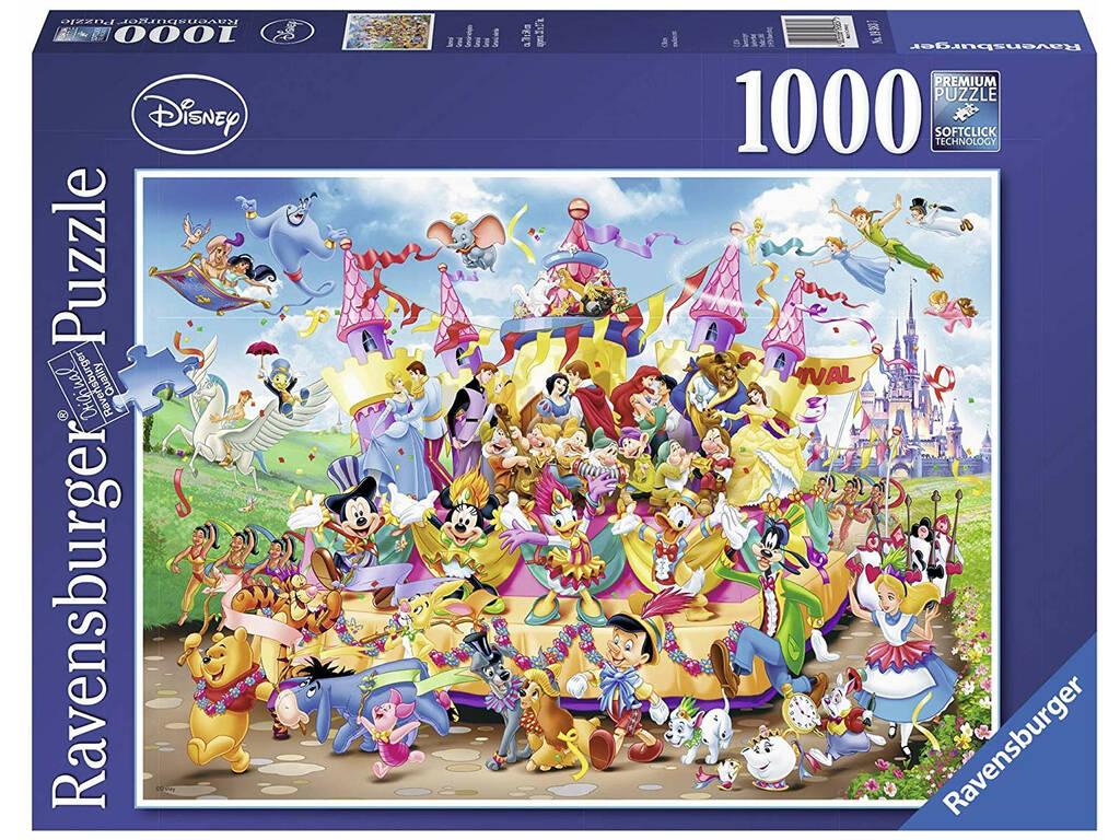 Puzzle Disney Carnaval 1.000 Peças Ravensburger 19383