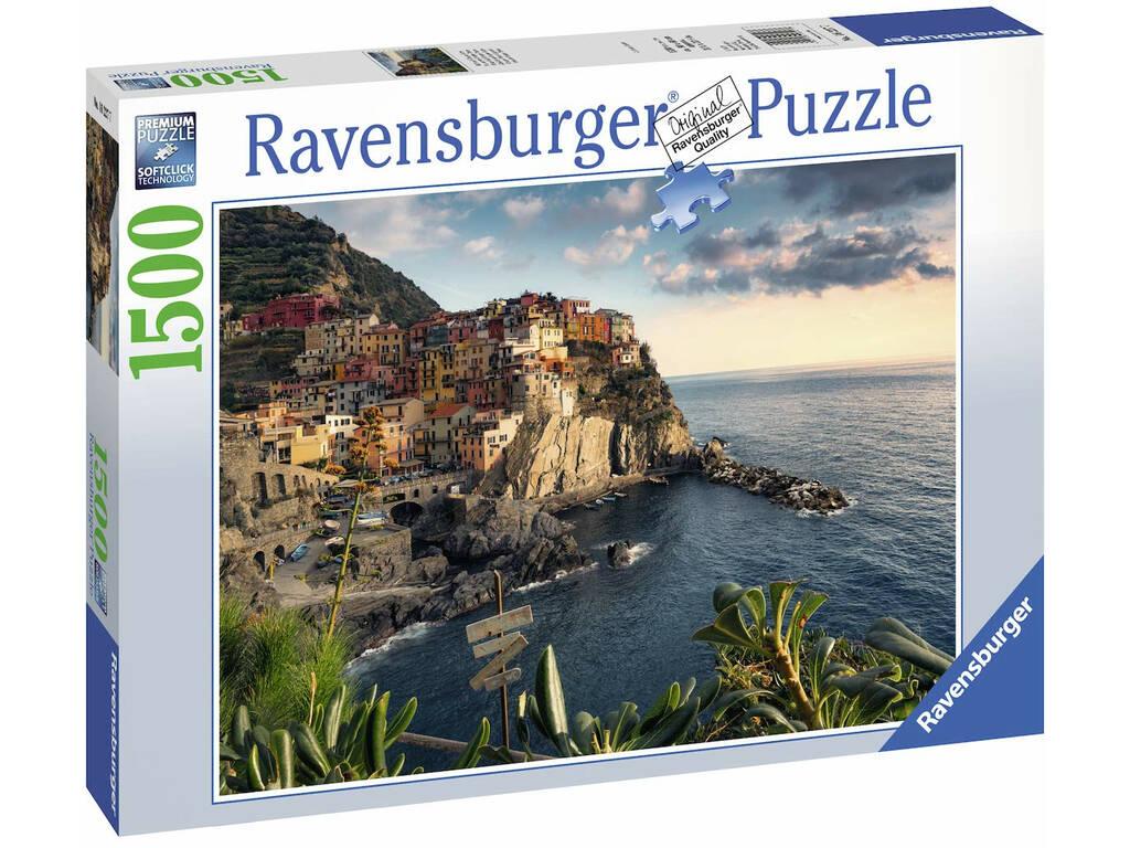 Puzzle Vista De Cinque Terre 1.000 Piezas Ravensburger 16227