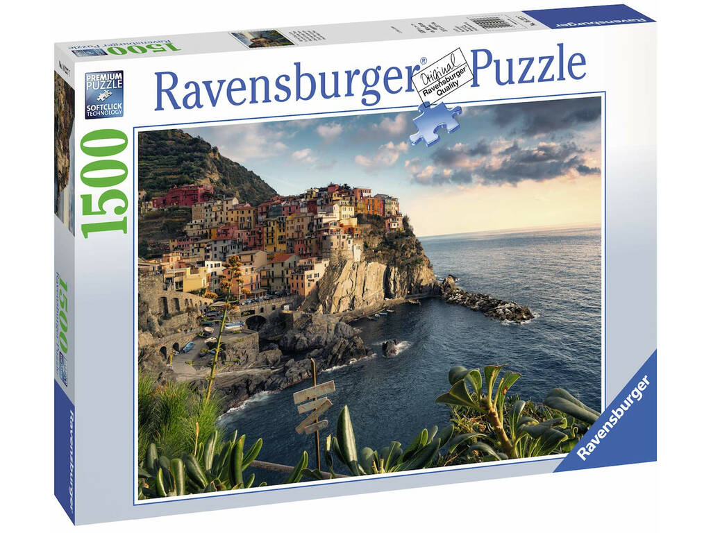 Puzzle Vista Delle Cinque Terre 1.000 Pezzi Ravensburger 16227