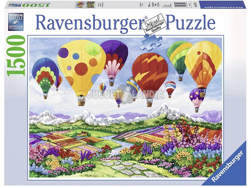 Puzzle A Primavera Está No Ar 1.500 Peças Ravensburger 16347