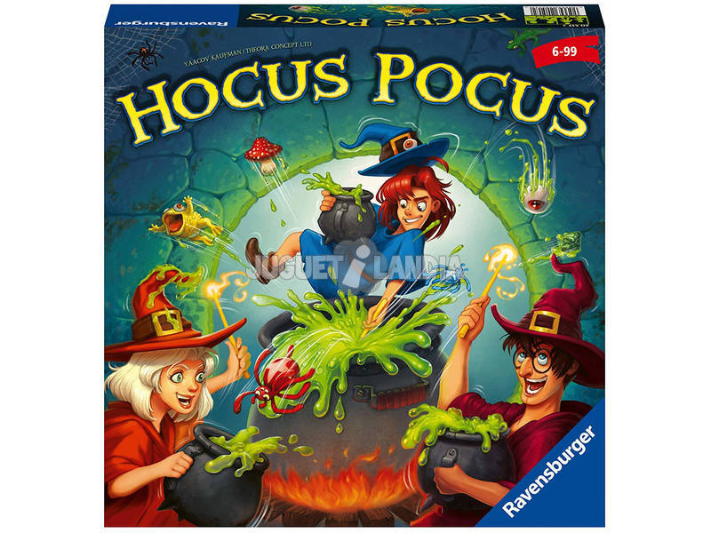 Gioco da Tavolo Hocus Pocus Ravensburger 20517