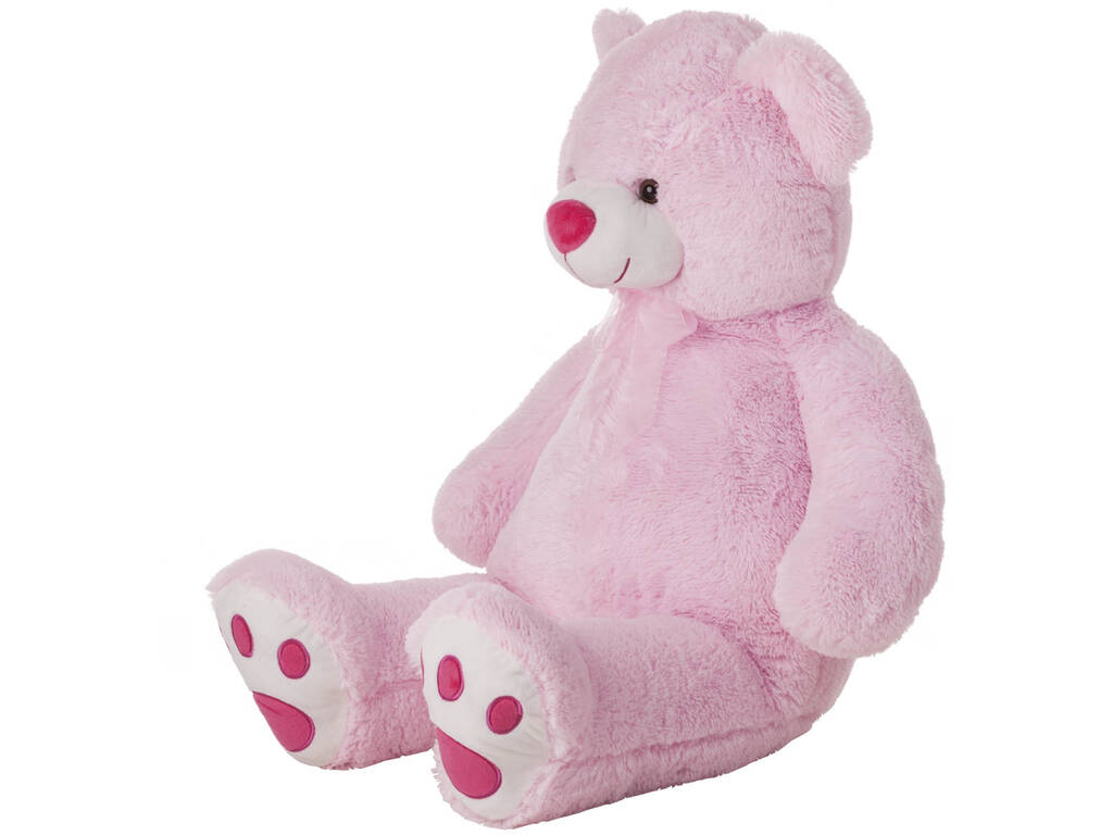 Urso de pecluche Cor- de- rosa 100 cm. Lopis 10414
