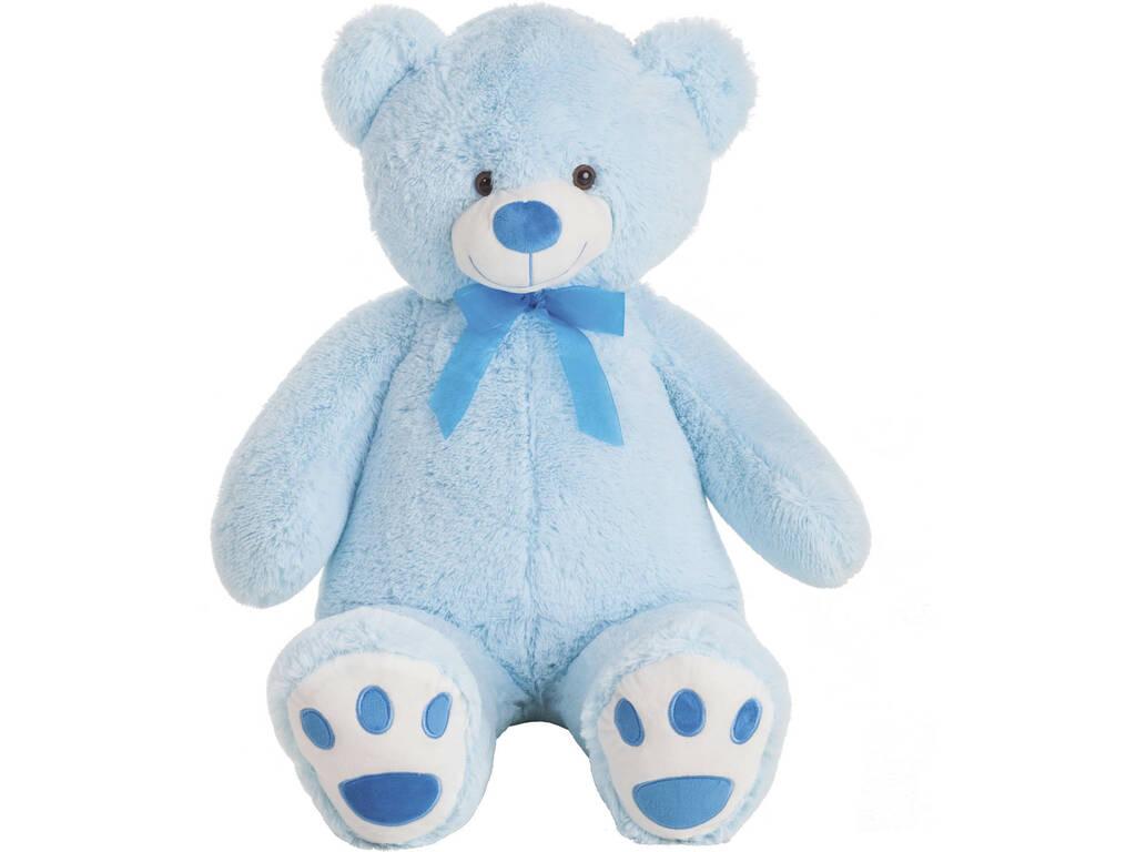 Ours peluche Bleu 100 cm. Créations Llopis 10415