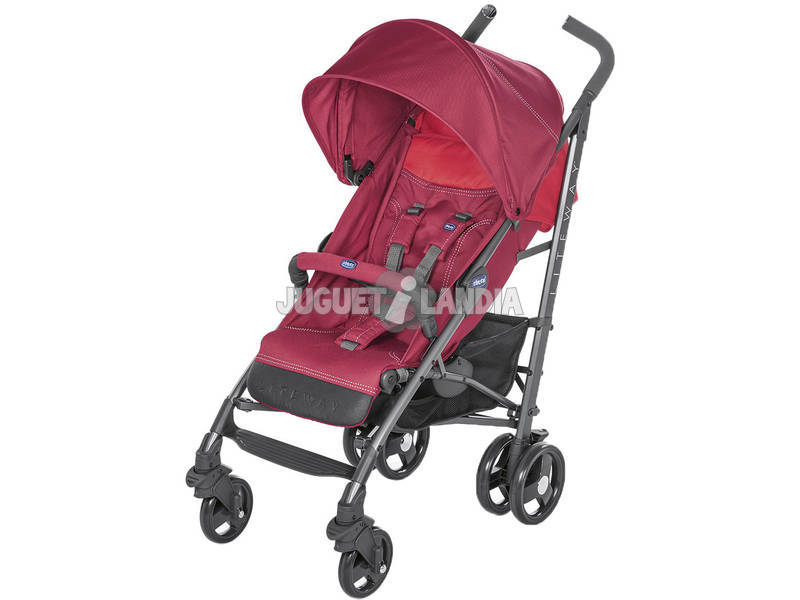 Silla De Paseo Liteway Red Berry Chicco 607959685