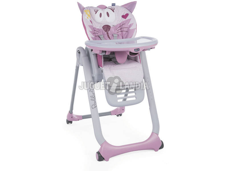 Chaise haute Polly 2Start Misspink Chicco 05079205810000
