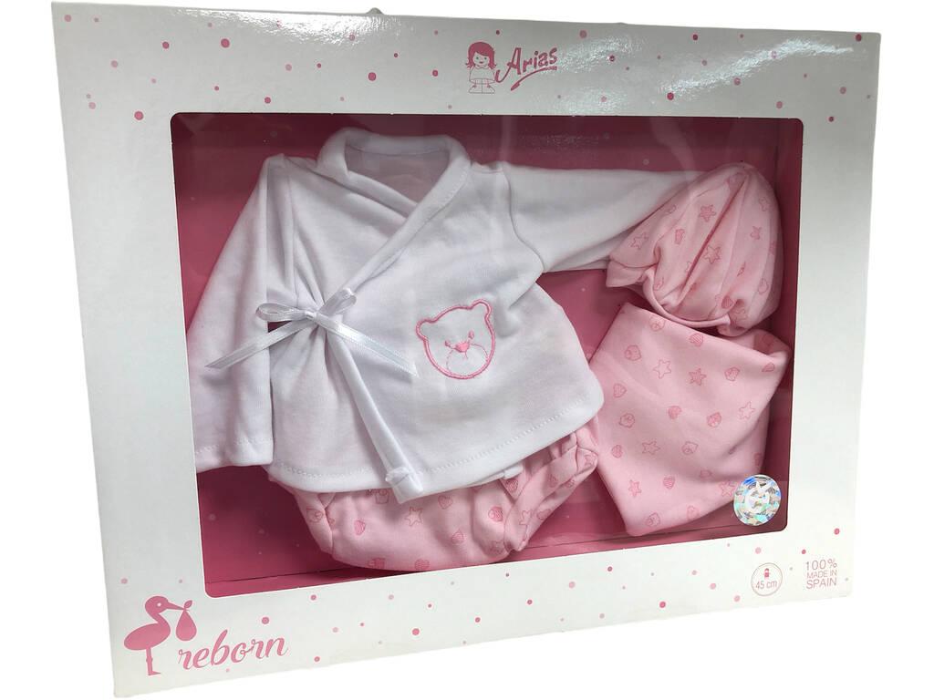 Vestido Boneca Elegance 45 cm. Arias 6037