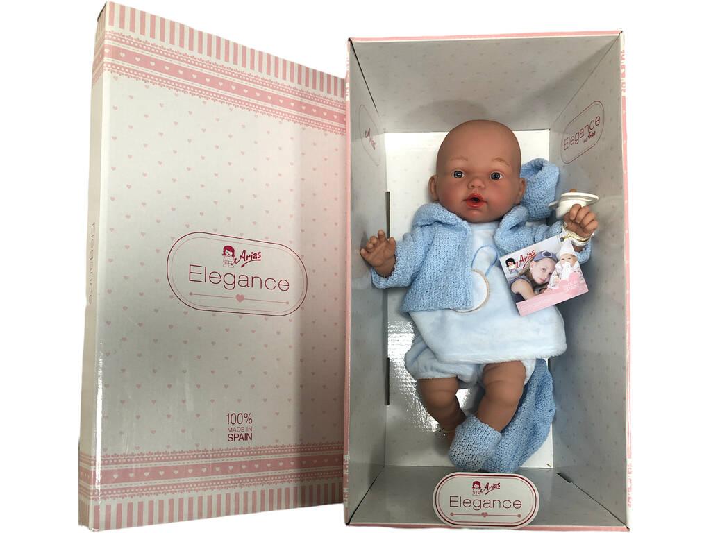 Muñeco Elegance Hanne Azul 28 cm. Lloro Arias 60245